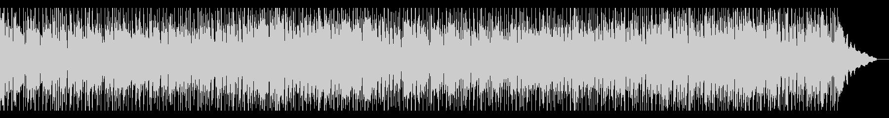 温かいメロディのハウス風バラードの未再生の波形