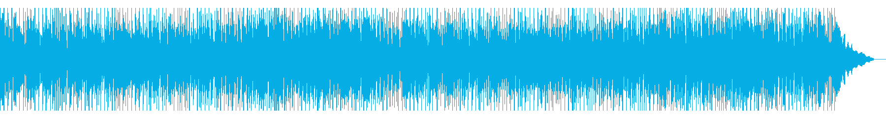 温かいメロディのハウス風バラードの再生済みの波形