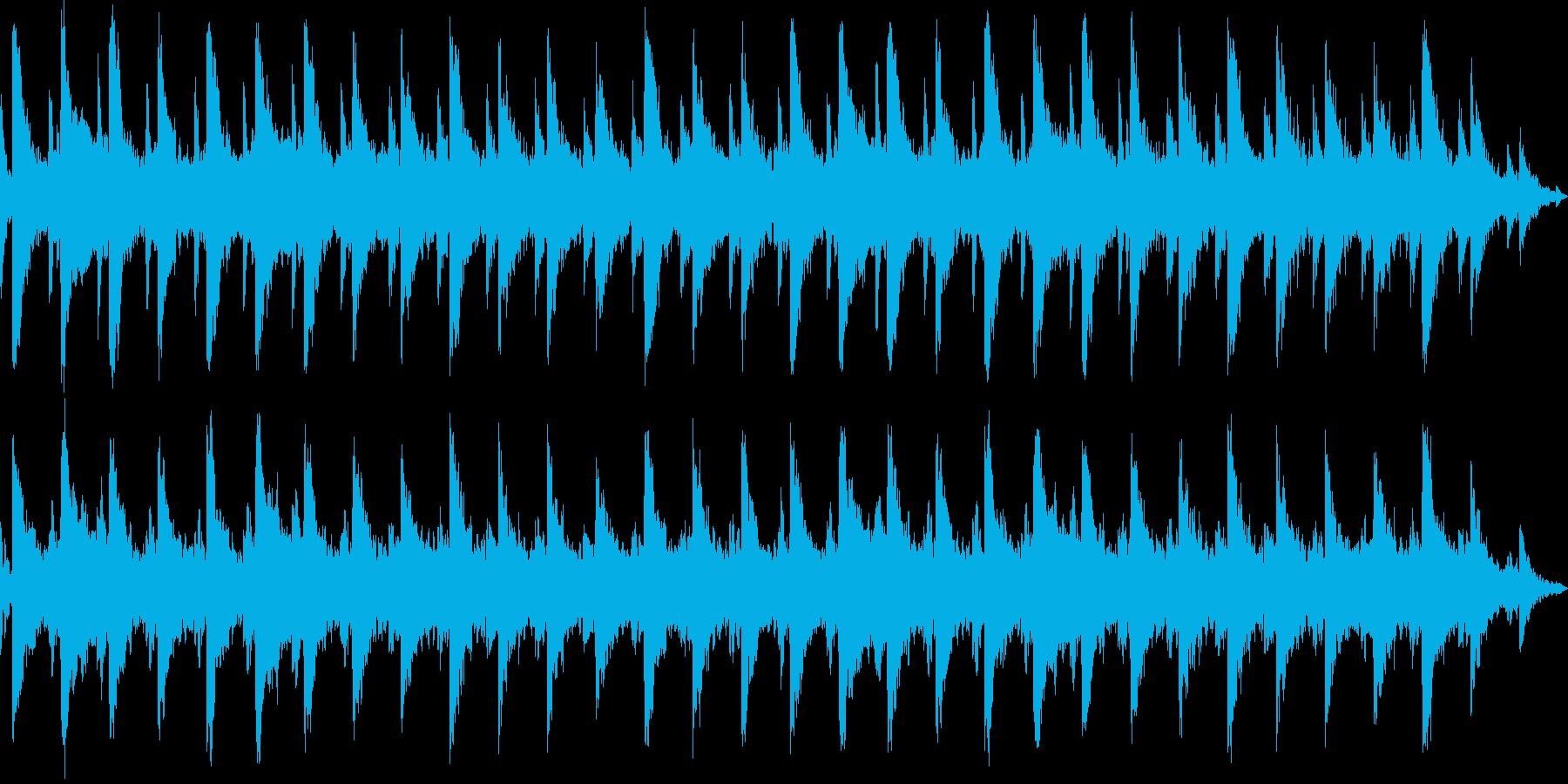 ファンタジーRPGの遺跡、特に大空洞の…の再生済みの波形
