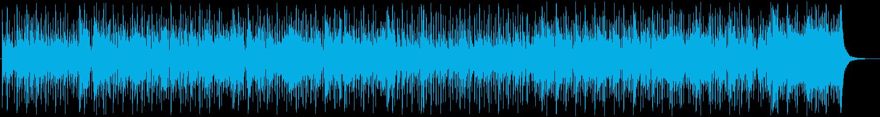 リズミカルでかわいらしいポップソングの再生済みの波形
