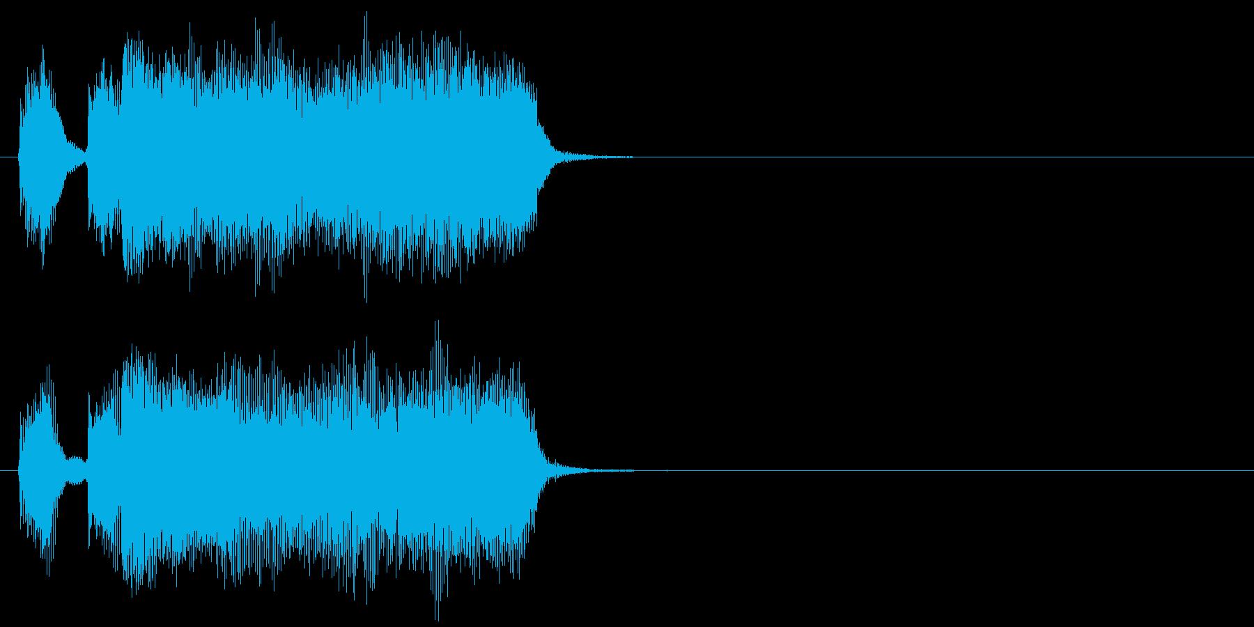 汎用11 テッテレーの再生済みの波形