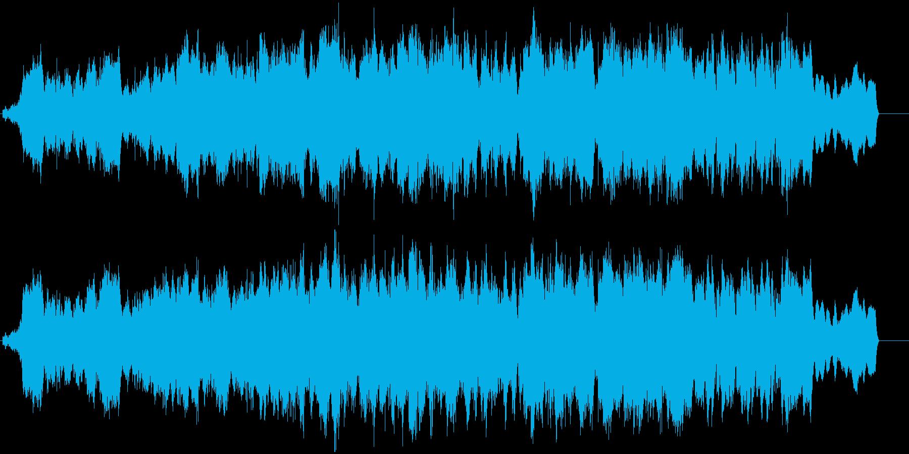 冒険の始まりを予感するBGMの再生済みの波形