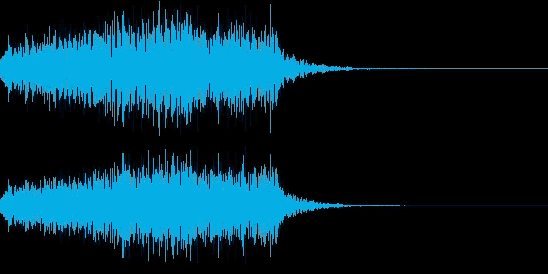 レベルUP(てれれれれー)の再生済みの波形