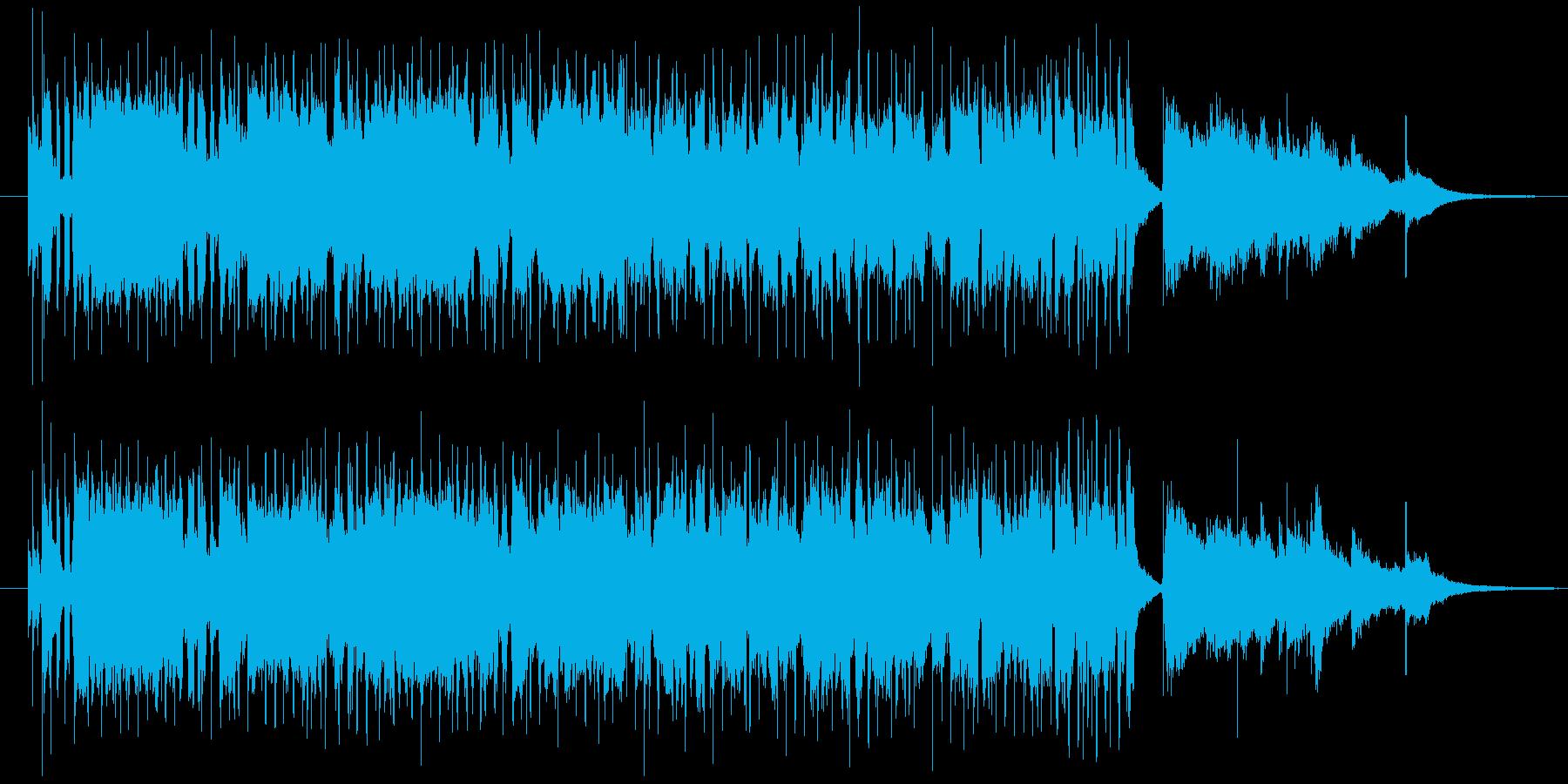 管楽器が印象的な明るい曲ですの再生済みの波形
