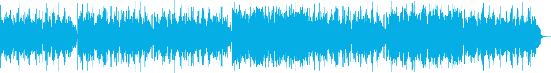 和風なシンセ・弦楽器などのサウンドの再生済みの波形