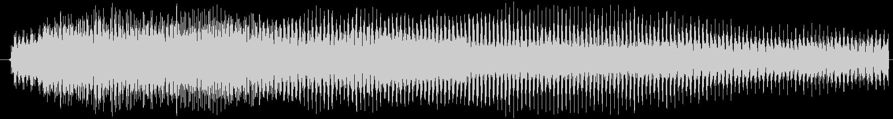 短めのノイジーな演出する音です。の未再生の波形
