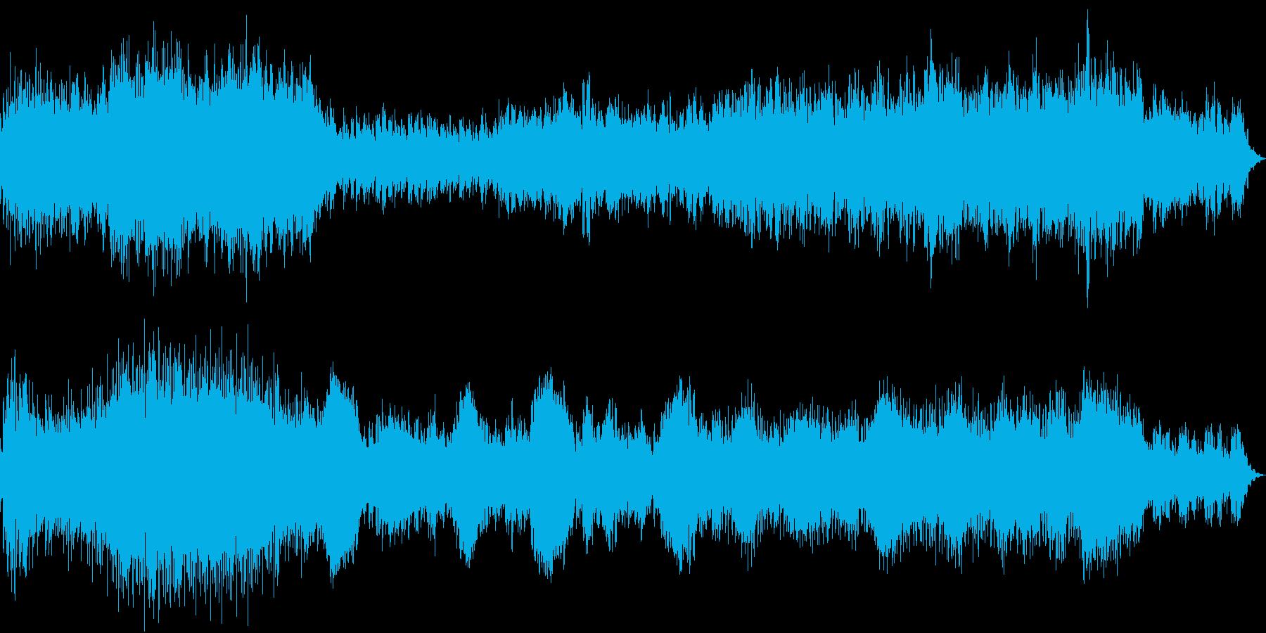 優しい雰囲気のエレクトロの再生済みの波形