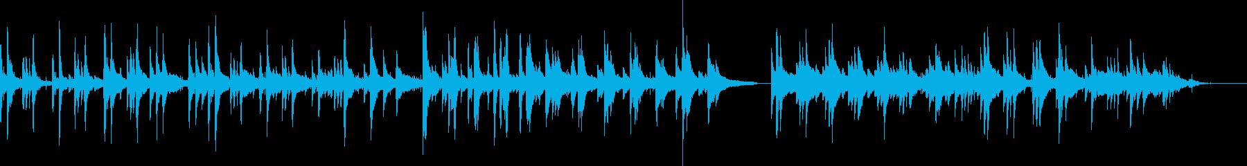 ハードボイルド・バー(ピアノ)の再生済みの波形