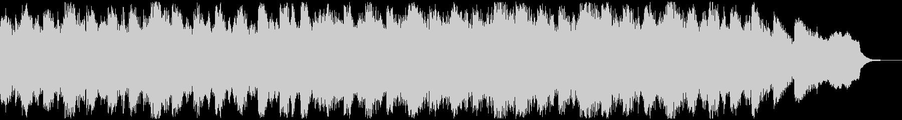 生録りコーラスを使用したホラーBGMの未再生の波形
