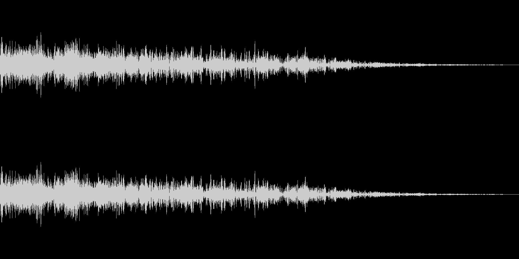 [ピロピロ]キャラ死亡・ミス(8bit)の未再生の波形