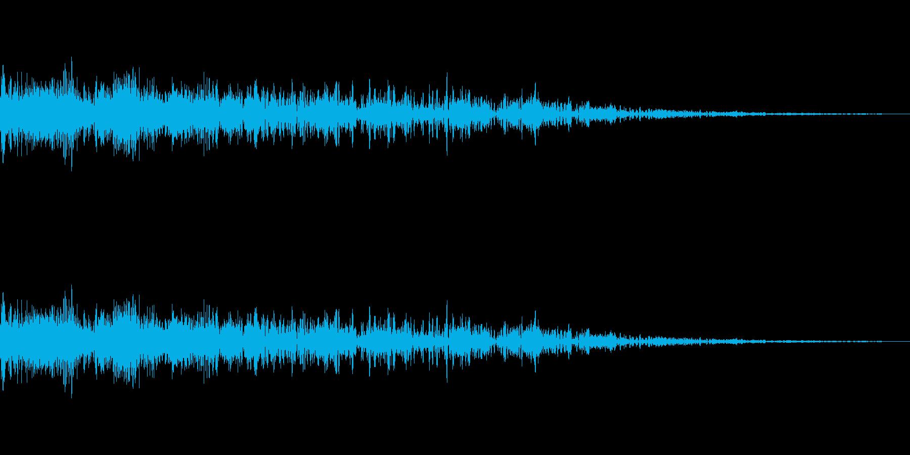 [ピロピロ]キャラ死亡・ミス(8bit)の再生済みの波形