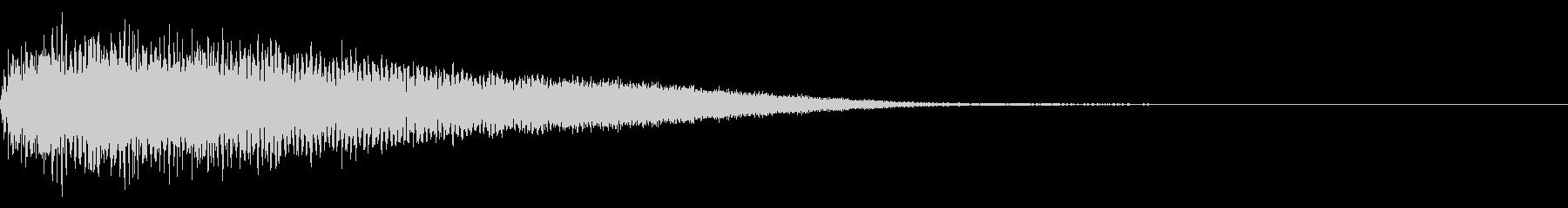 【ゴ〜ン!大晦日】除夜の鐘【日本伝統】3の未再生の波形
