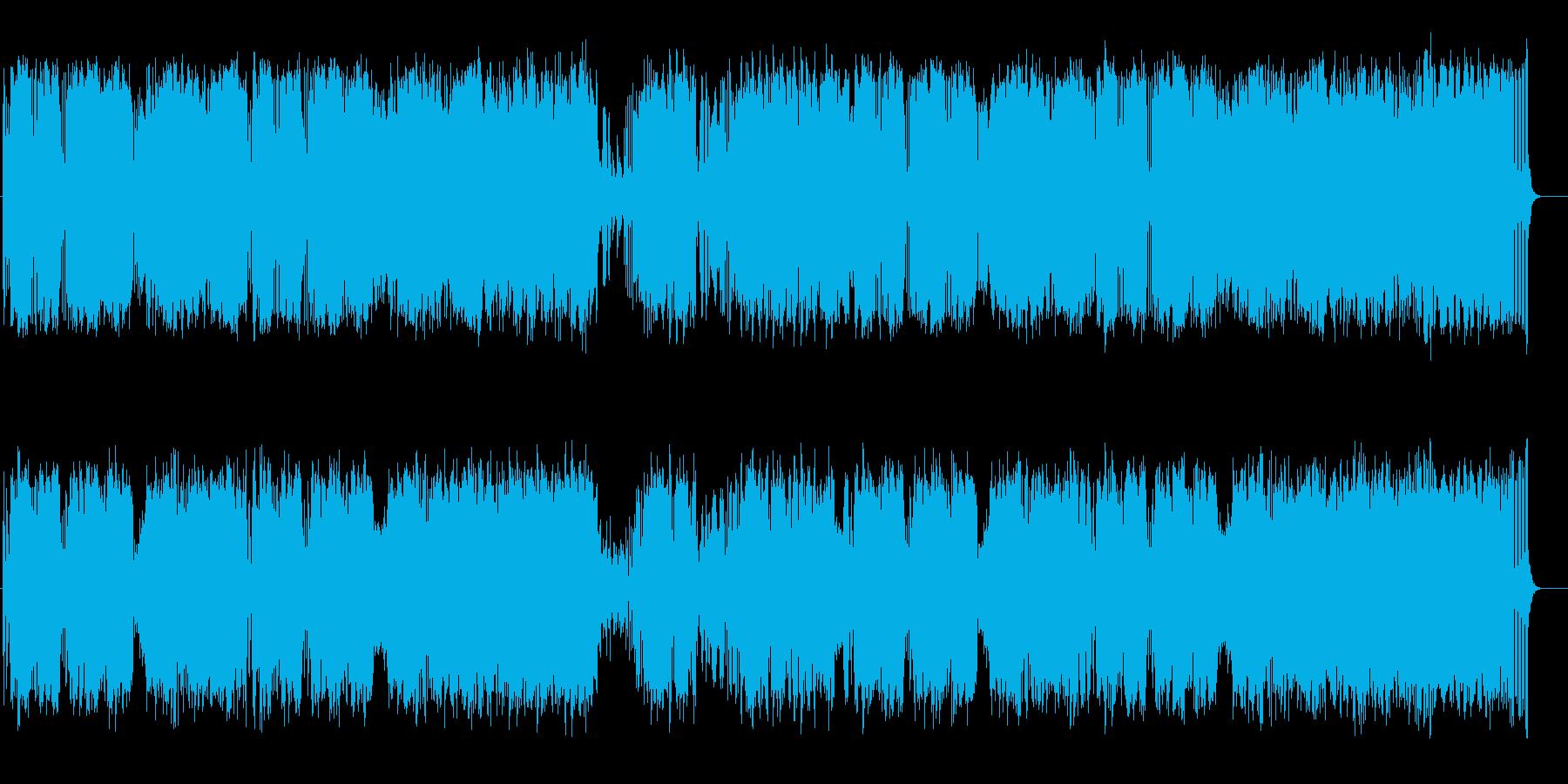 春の雪解け水の様に透き通った弦楽四重奏の再生済みの波形