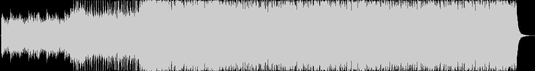 ピアノが印象的なオープニングBGMの未再生の波形