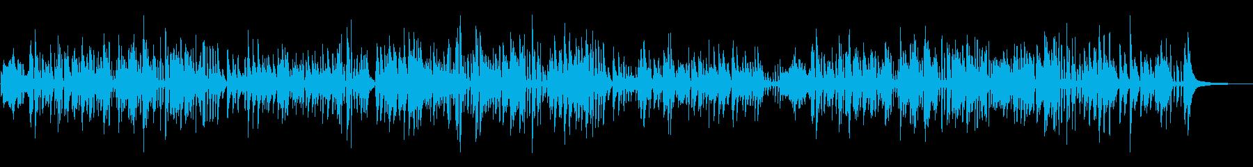 しっとりとしたジャズピアノの再生済みの波形