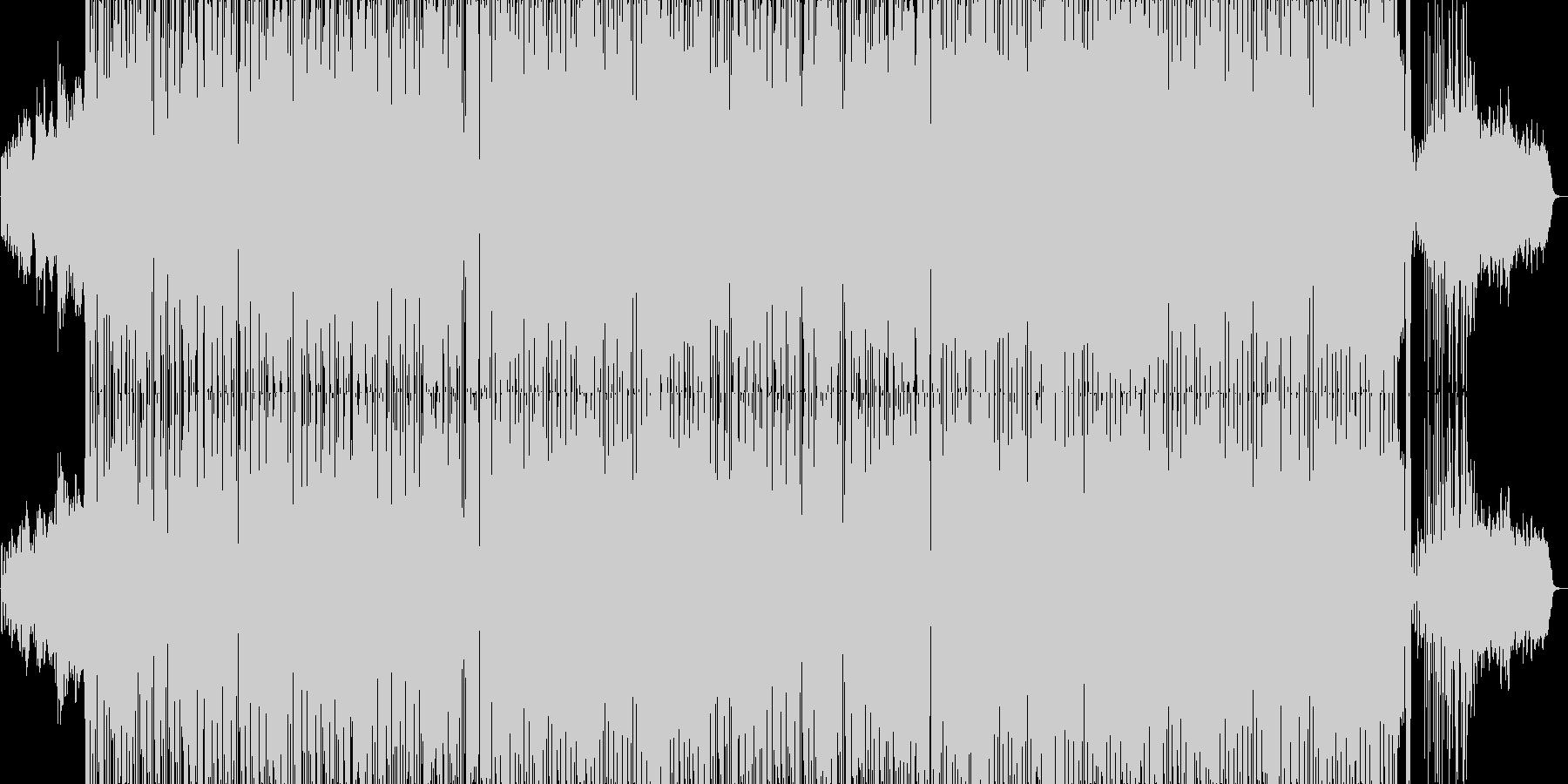ニューエイジ風で中国風なR&Bポップの未再生の波形