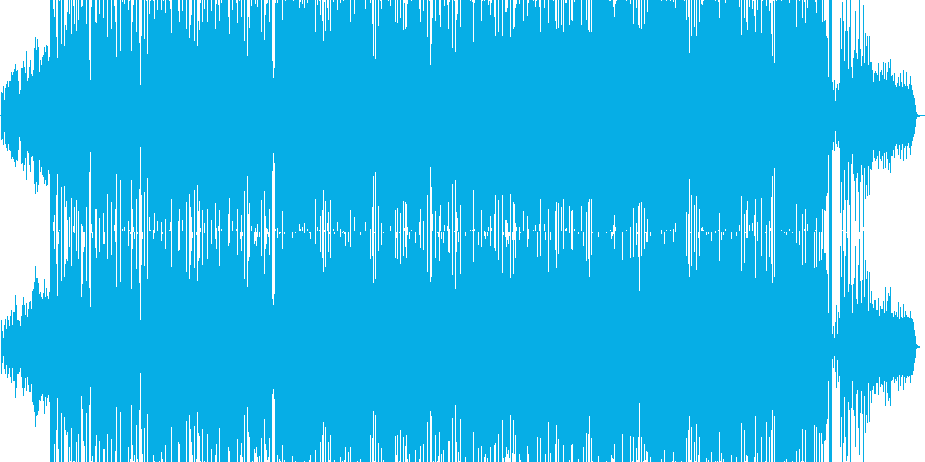ニューエイジ風で中国風なR&Bポップの再生済みの波形