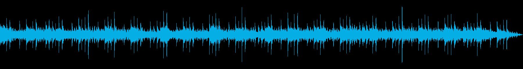 【主張しない背景音楽】穏やか2の再生済みの波形