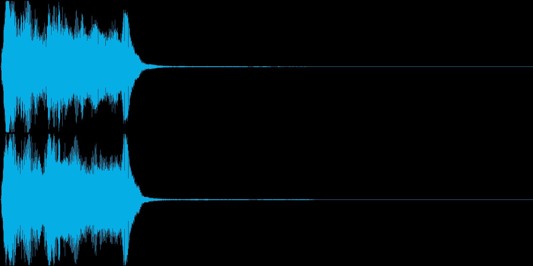 トランペット ファンファーレ 定番 10の再生済みの波形