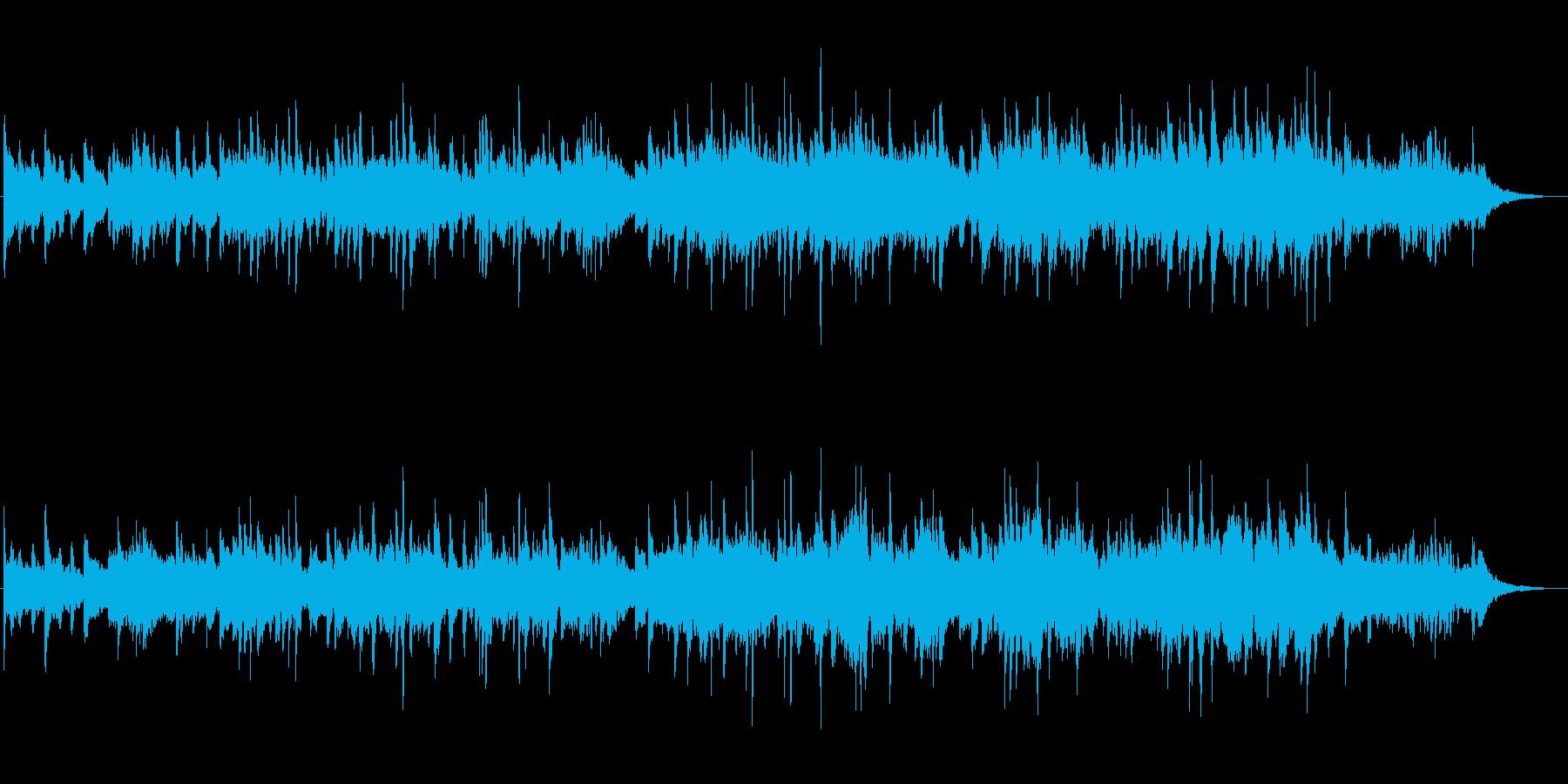 胸がきゅっとするような切ないピアノ曲の再生済みの波形