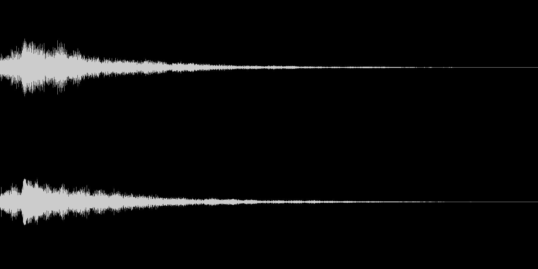 しゃらん♪ (連鎖01)の未再生の波形