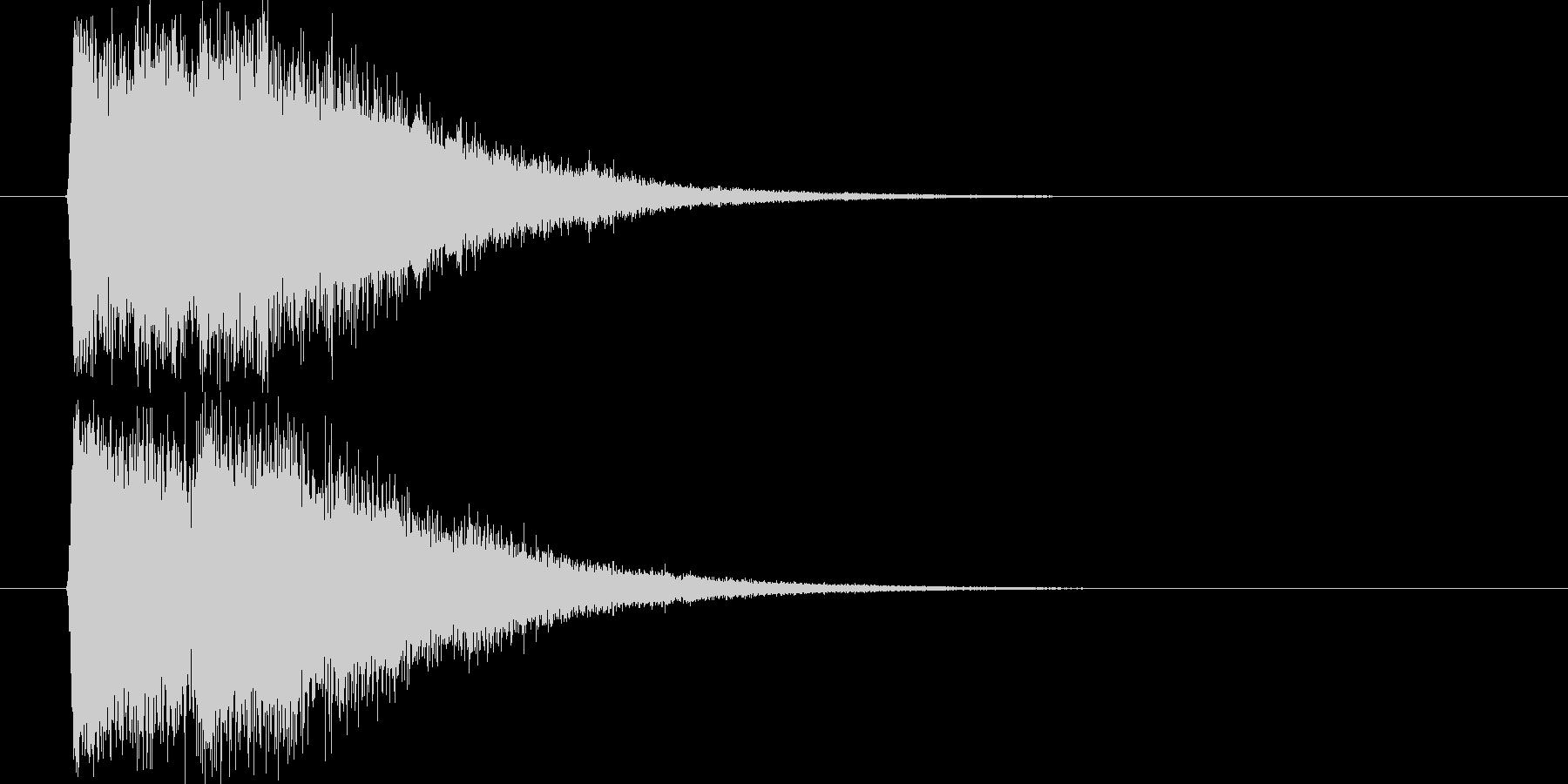 魔法発射_m0233の未再生の波形