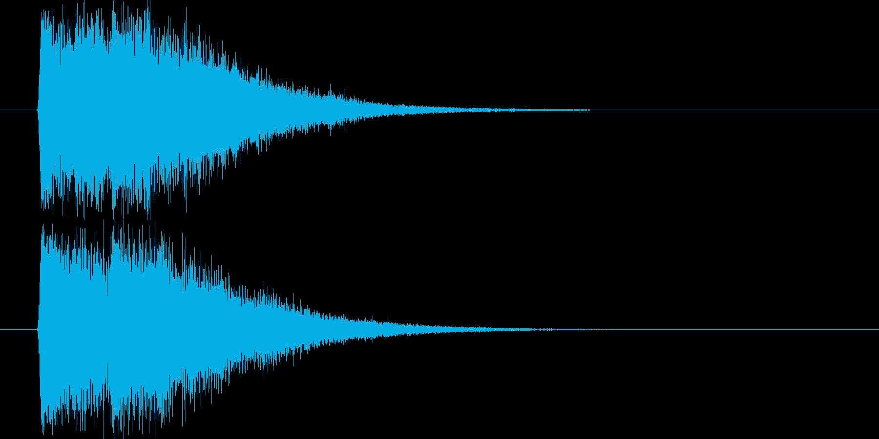魔法発射_m0233の再生済みの波形