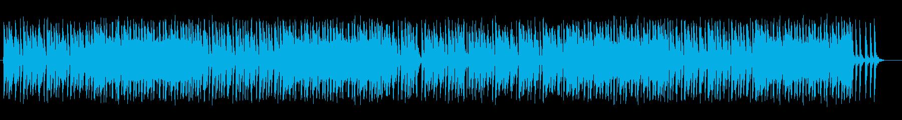 ユニークなジャズ風ポップスの再生済みの波形