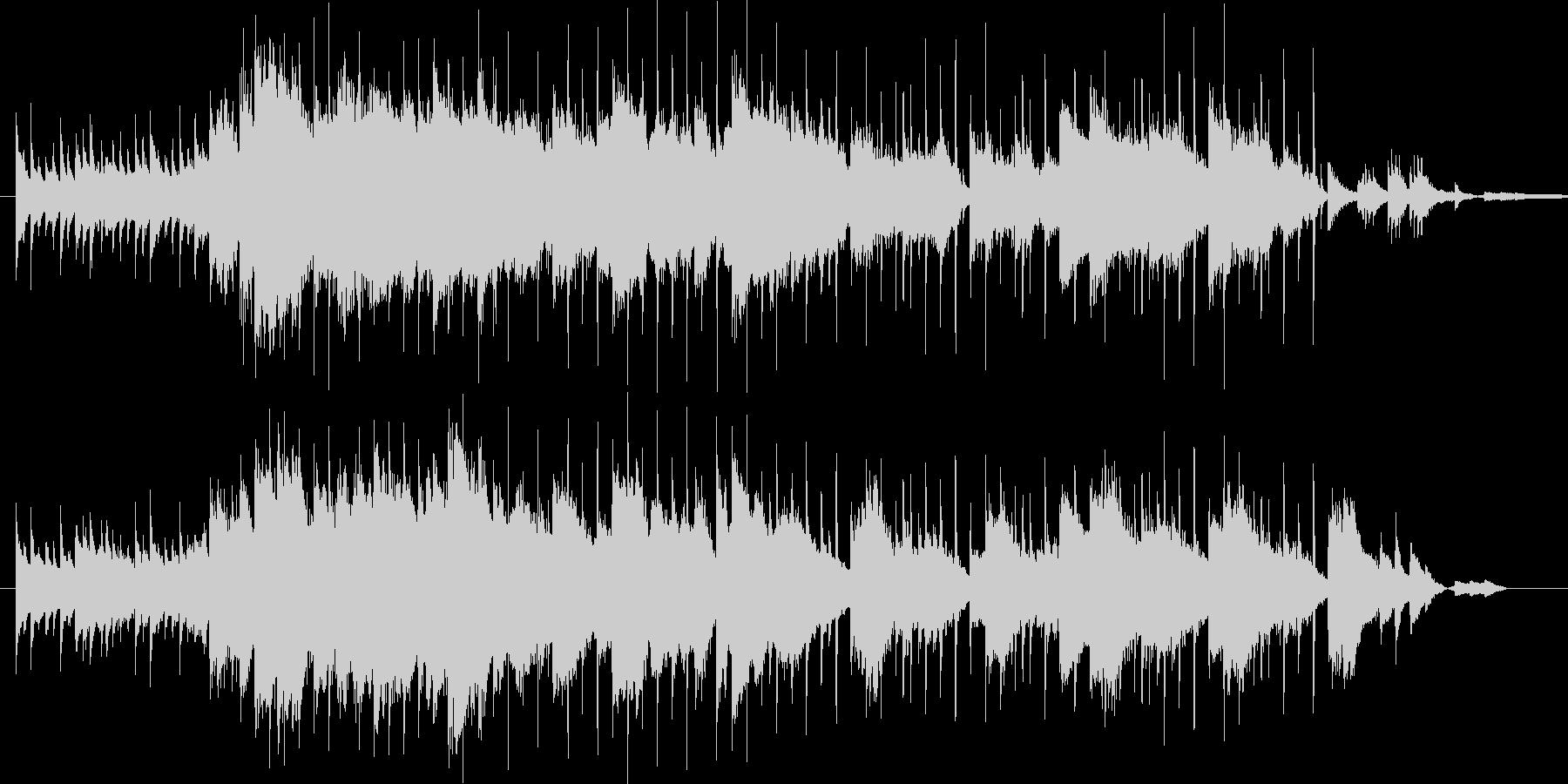 天空のbgmの未再生の波形
