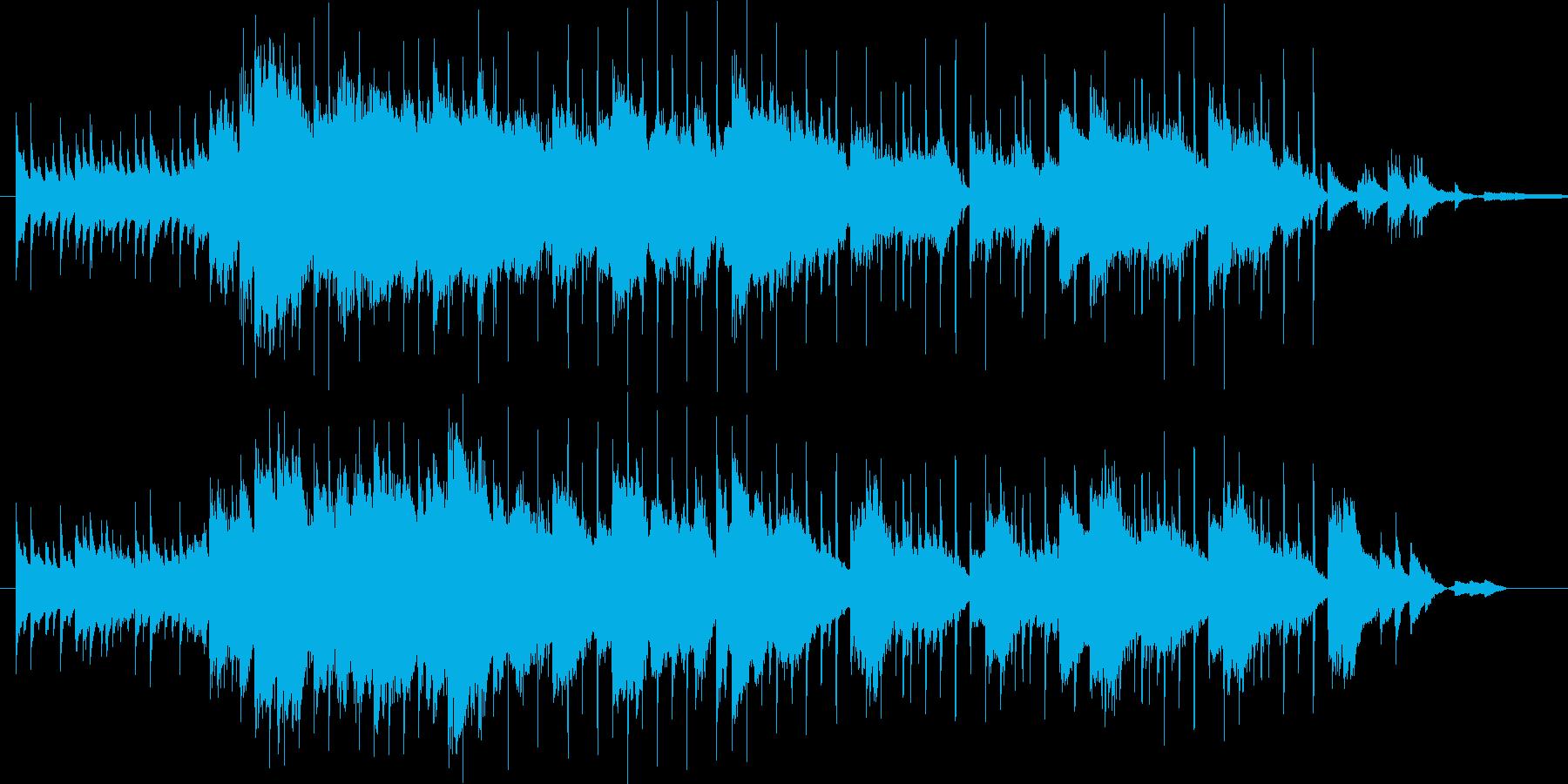天空のbgmの再生済みの波形