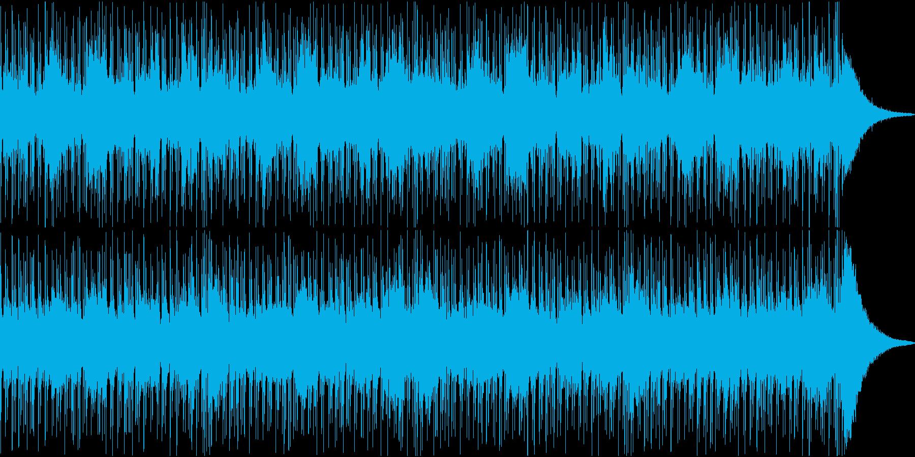 不思議な世界感のモダンダンス的ドラム楽曲の再生済みの波形