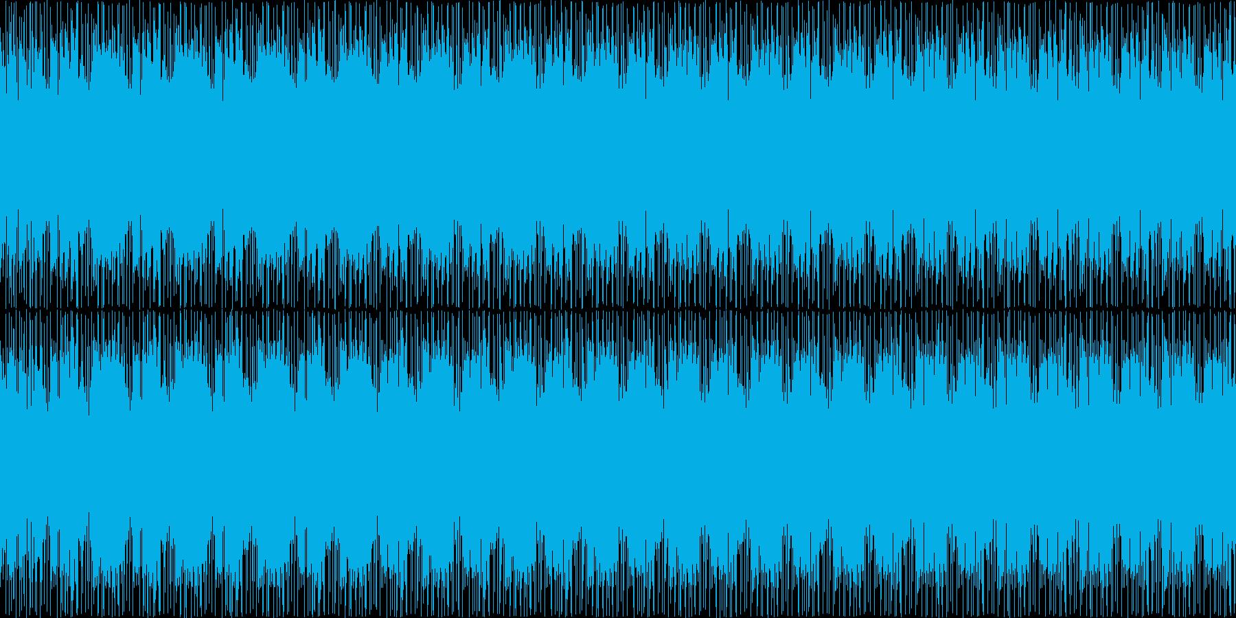 映像に合う近代的・神秘的なループBGMの再生済みの波形