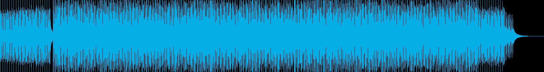 Rhodeピアノによるディープハウスの再生済みの波形