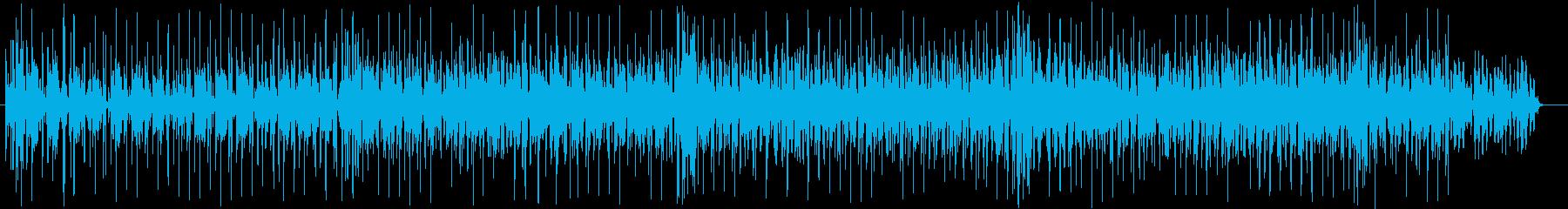 マイナーで幻想的なテクノポップの再生済みの波形
