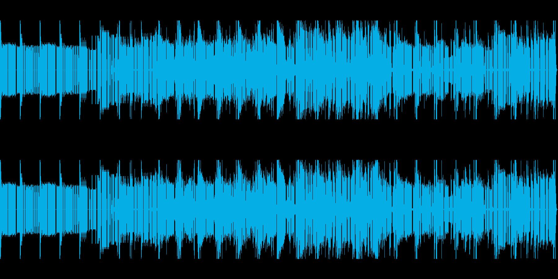 幻想的で不思議なスピリチュアル風サウンドの再生済みの波形