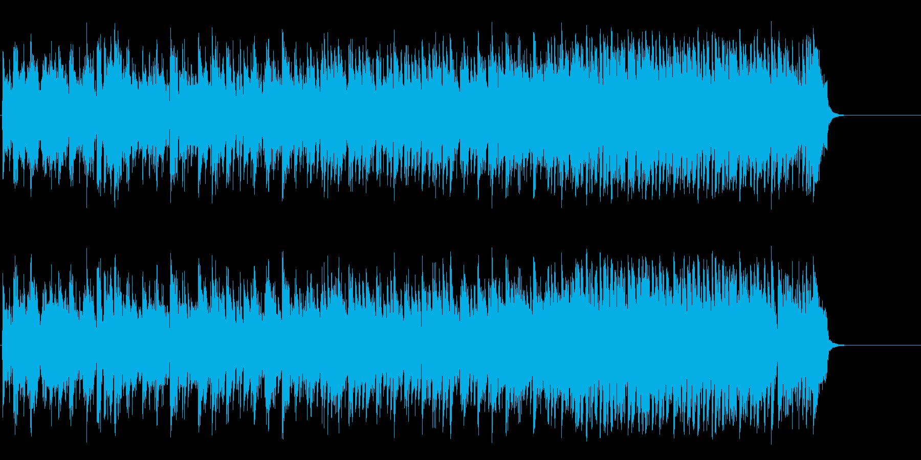 海を思う爽快フュージョン(イントロ~…)の再生済みの波形
