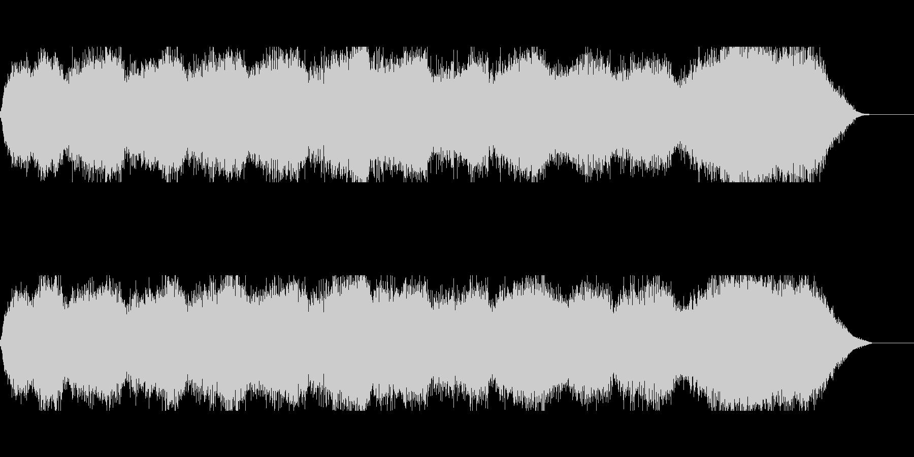 洞窟や塔のBGMにの未再生の波形
