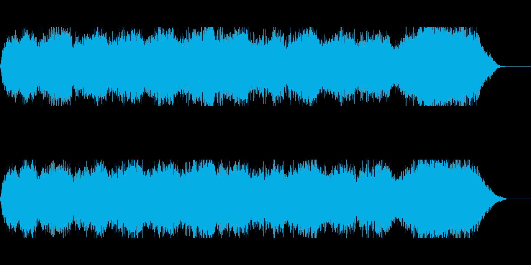 洞窟や塔のBGMにの再生済みの波形