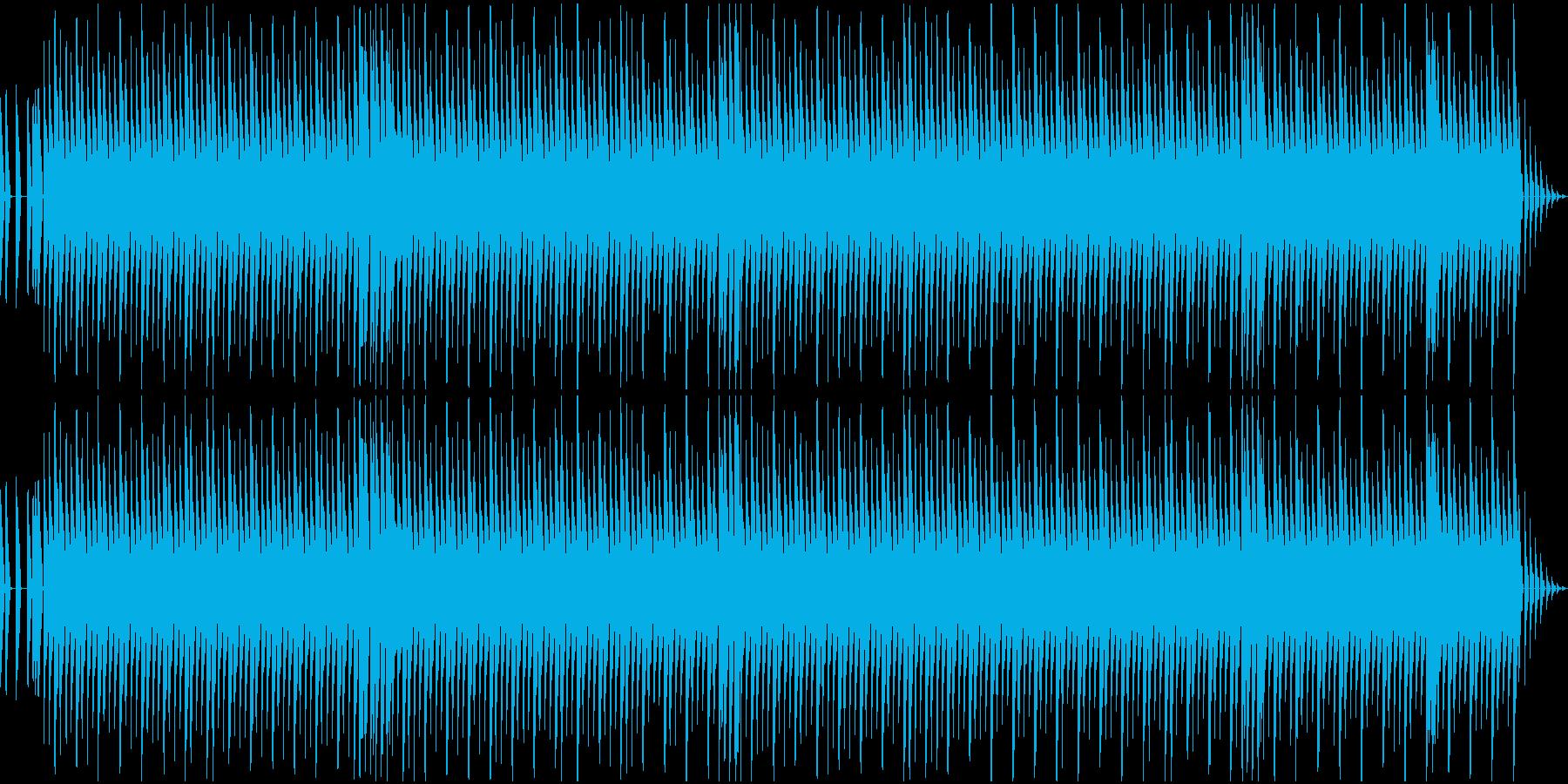 ドット系ゲーム向け 軽快で明るい8ビートの再生済みの波形