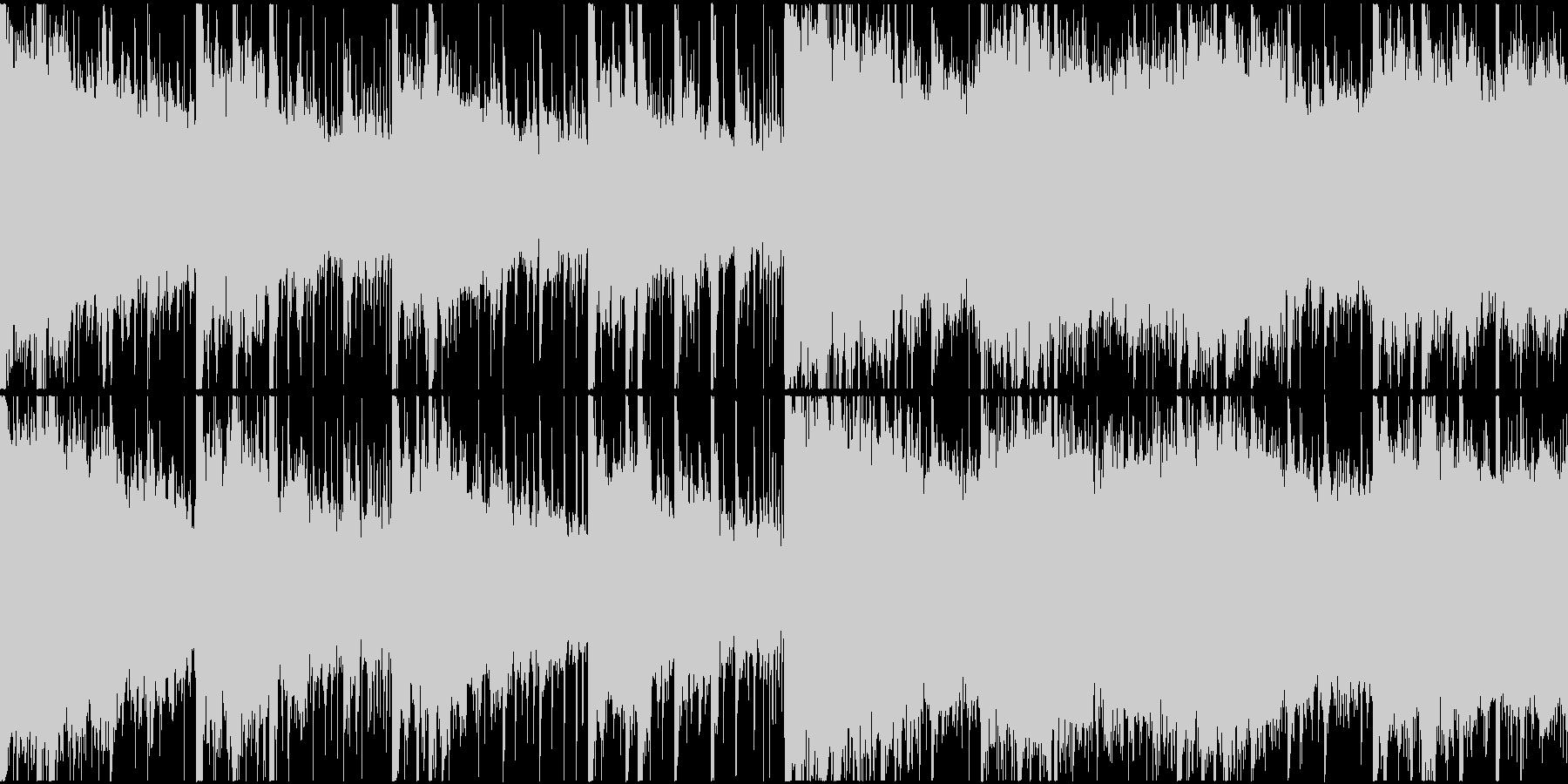 幻想的で穏やかなエレクトロR&Bショートの未再生の波形