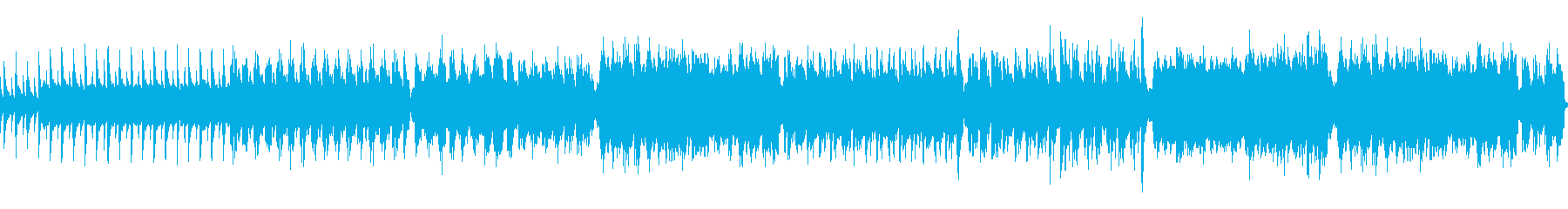 ケルト・ファンタジー系のBGMですの再生済みの波形
