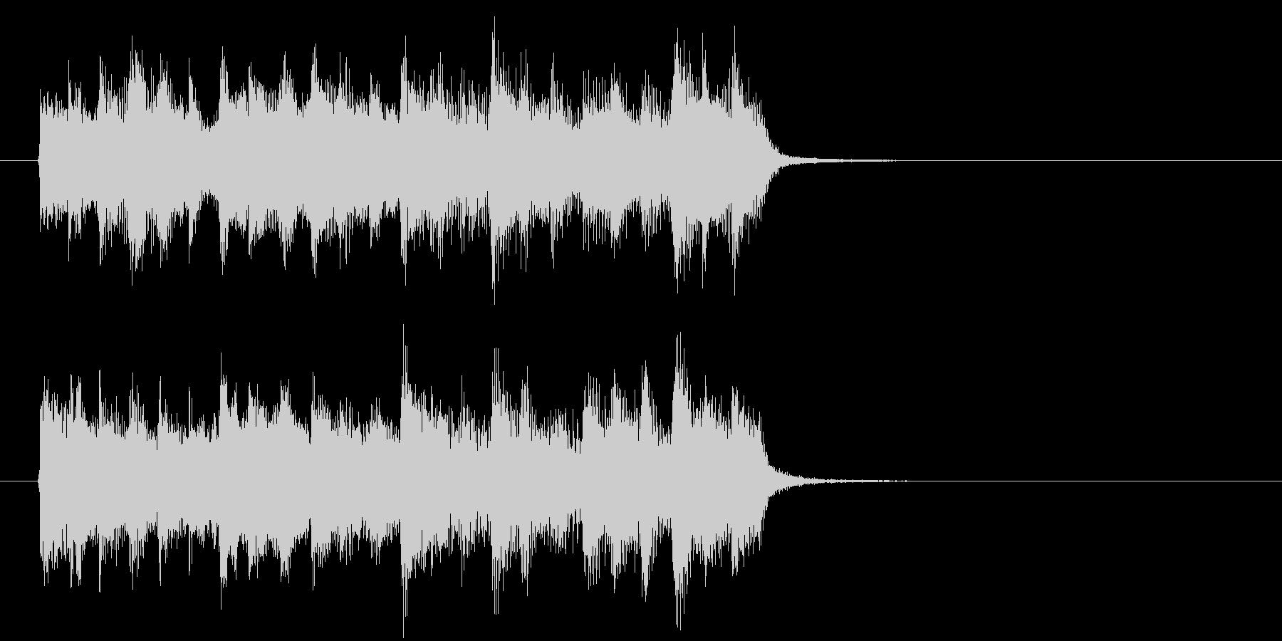 神秘的な森の中のようなBGM_ループ用3の未再生の波形