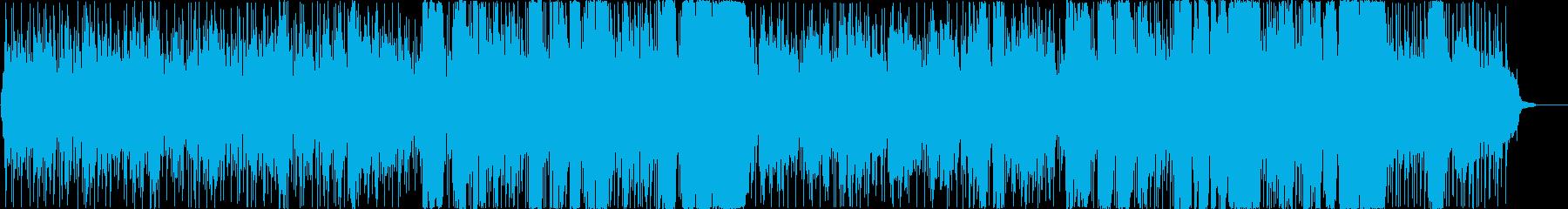 懐かしい感じのPOPSの再生済みの波形