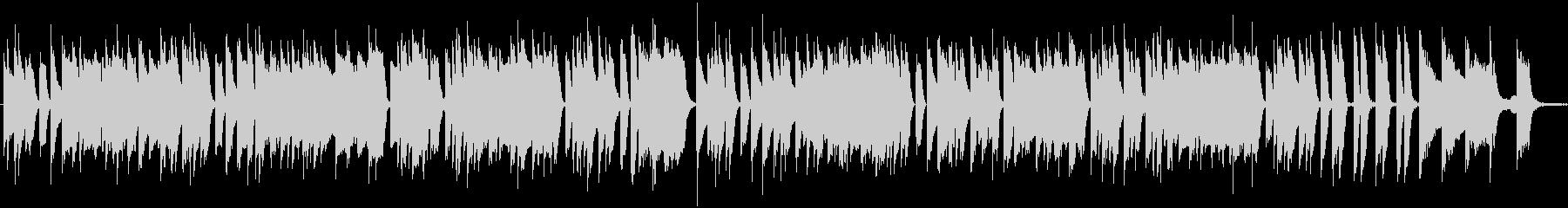 暢気で陽気なラグタイム・ピアノソロの未再生の波形