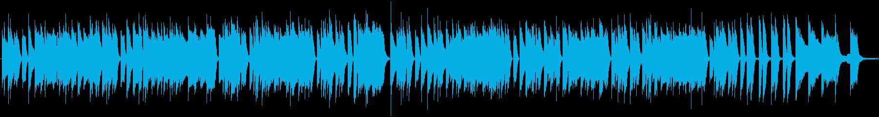 暢気で陽気なラグタイム・ピアノソロの再生済みの波形
