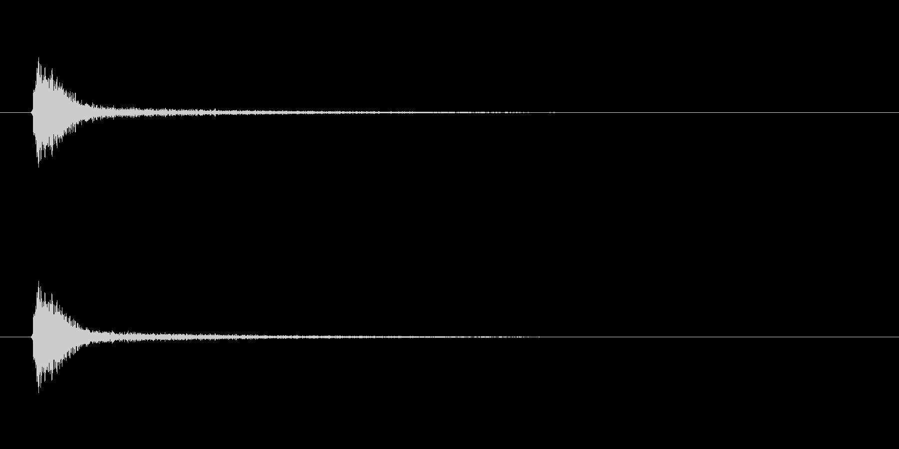 【風船 破裂01-4】の未再生の波形