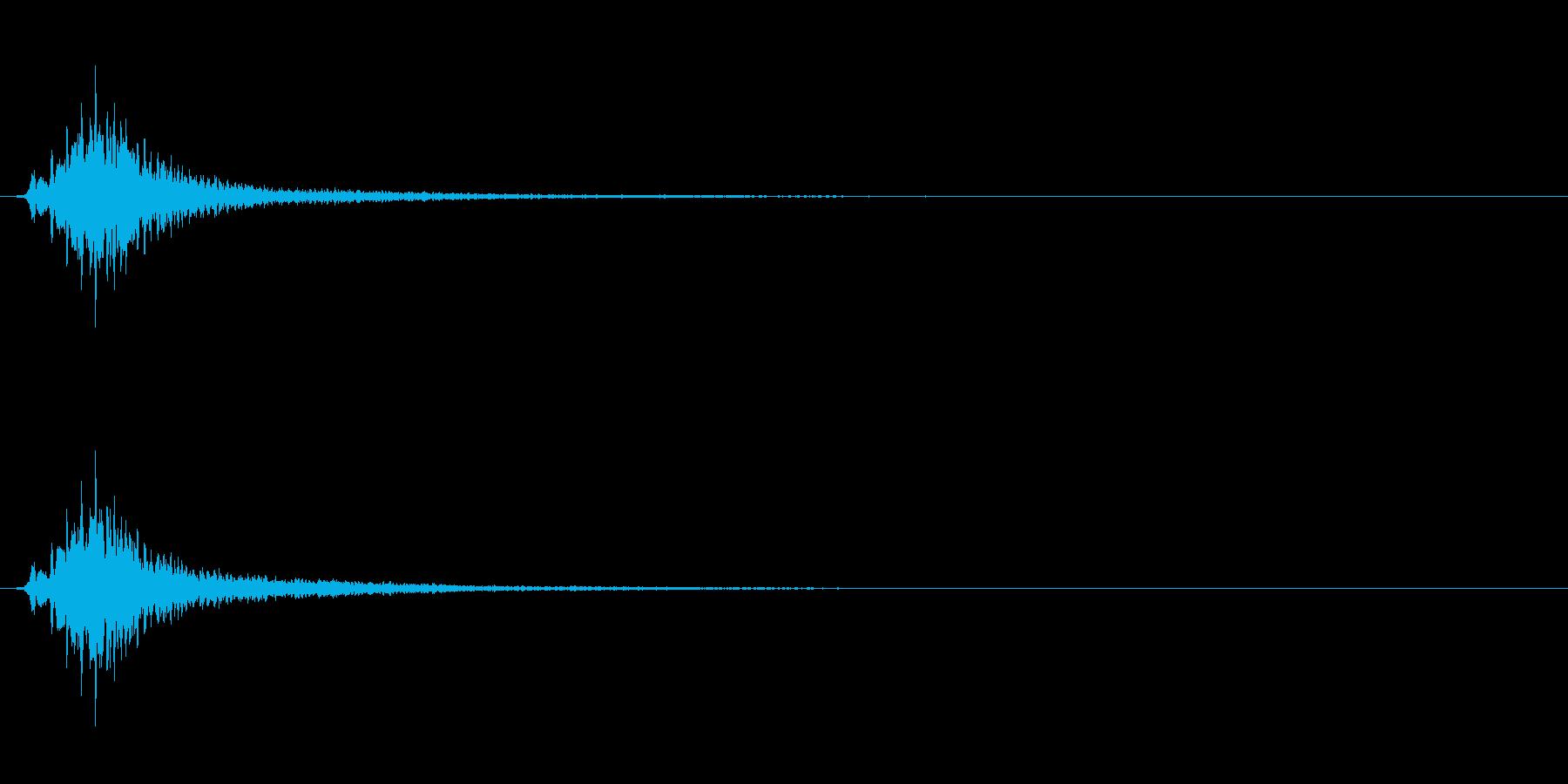 キラキラ系_012の再生済みの波形