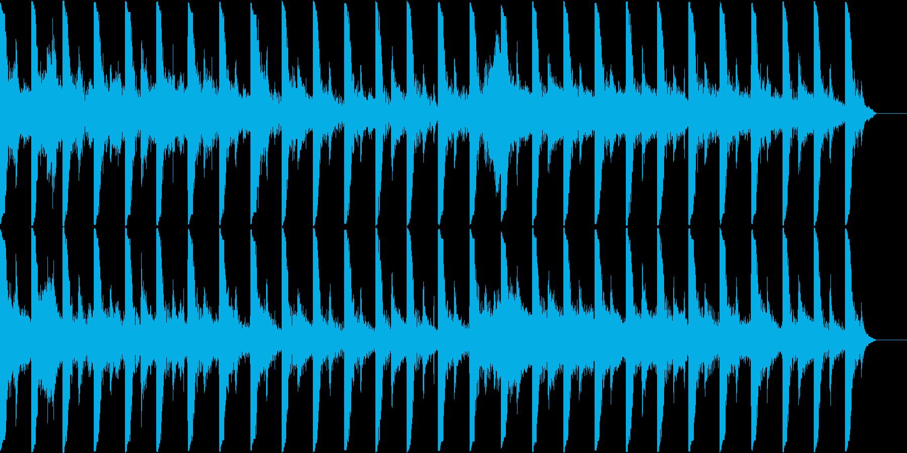 和を感じるBGMの再生済みの波形