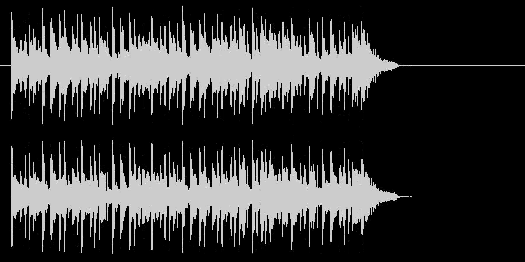 大人のポップ/ボサノバ(Aメロ)の未再生の波形