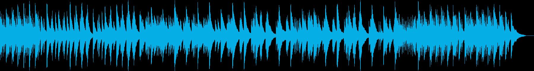 シンプルで落ち着いたピアノ音源ですの再生済みの波形